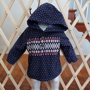 ❤Carter's 6 months fleece hooded pullover❤